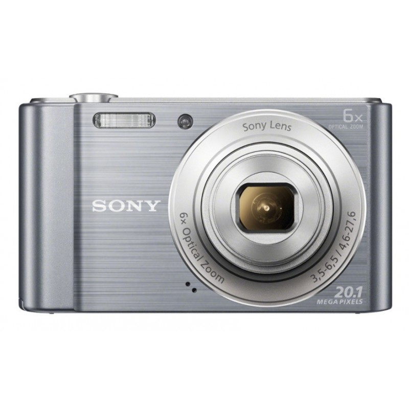Cámarafotos digital SONY DSCW810S plata