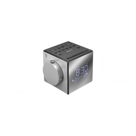 Radio despertador SONY ICF-C1PJ plata