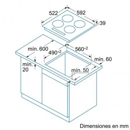 Encimera BALAY 3EB714LR