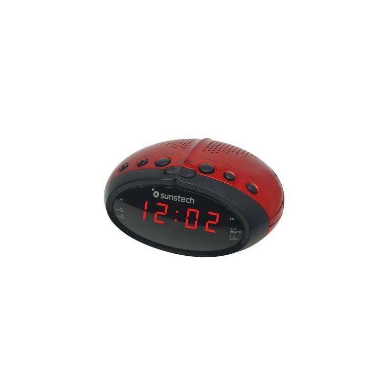 Radio despertador SUNSTECH FRD16RD