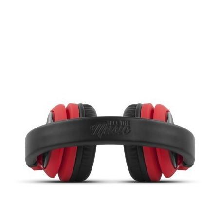 Auricular energy sistem DJ2 rojos