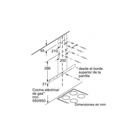 Campana Extractora BALAY 3BC097EX A