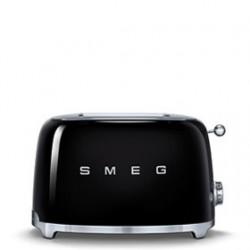 Tostador SMEG TSF01 2SLICE black