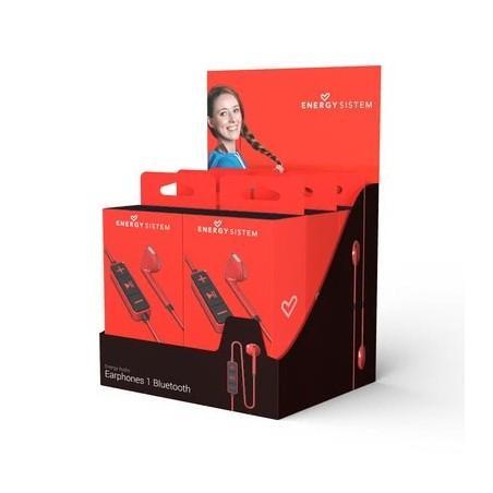 Auricular energy sistem earphones 1 rojo