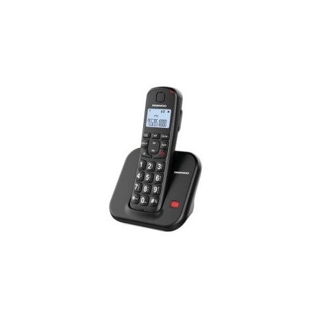 Teléfono dect DAEWOO DTD-7200 negro