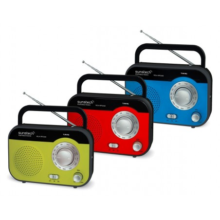 Radio Portátil SUNSTECH RPS-560 Rojo