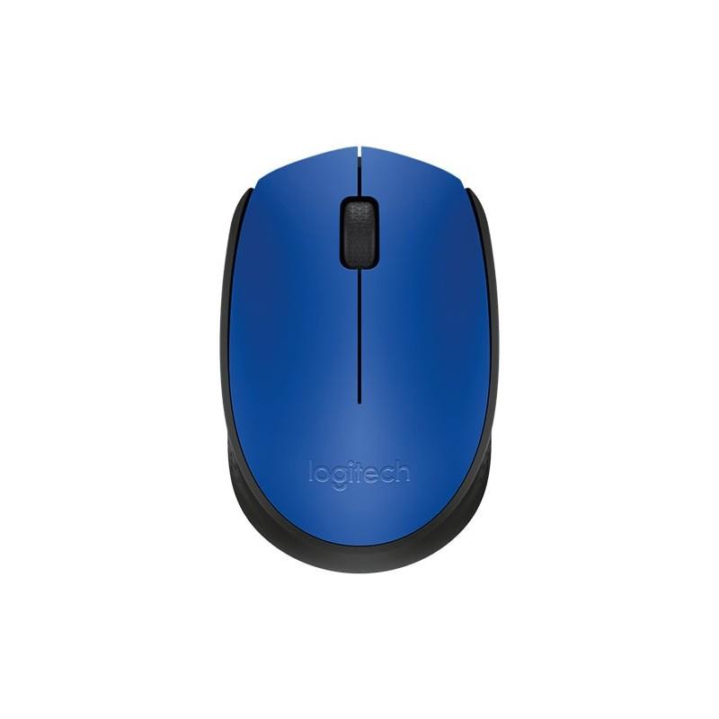 Ratón ordenador LOGITECH M171 azul