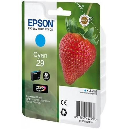 Cartucho EPSON fresa 29 cian