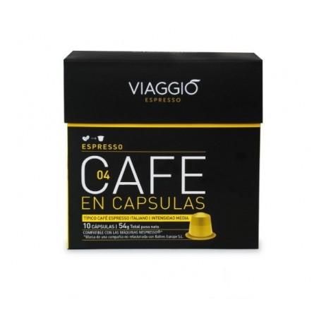 Cápsulas VIAGGIO espresso