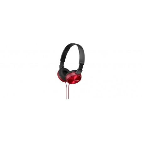 Auricular SONY MDRZX310R rojo