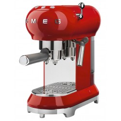 Cafetera espress SMEG ECF01RDEU Rojo