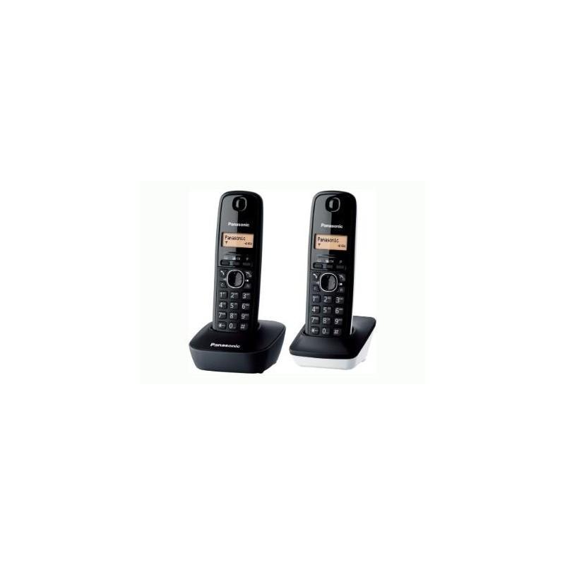 Teléfono dect duo PANASONIC TG1612 bl/ng