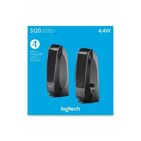 Altavoz pc LOGITECH S120 black 2.0