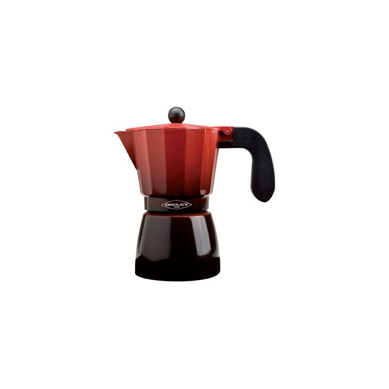Cafetera filtro OROLEY 9T induccion roj