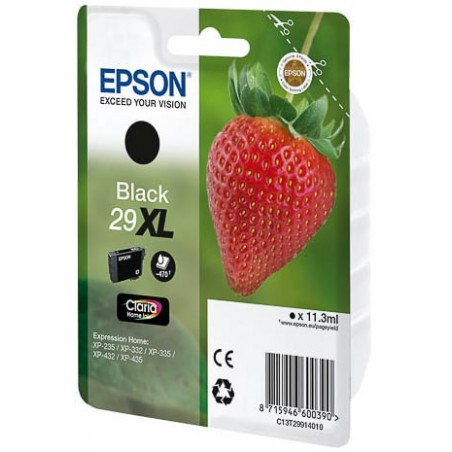 Cartucho EPSON C13T29914010 negro