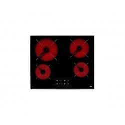 Encimera TEKA TZ 6415 4 zonas Cristal Negro