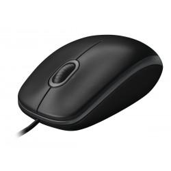 Ratón LOGITECH B100 negro