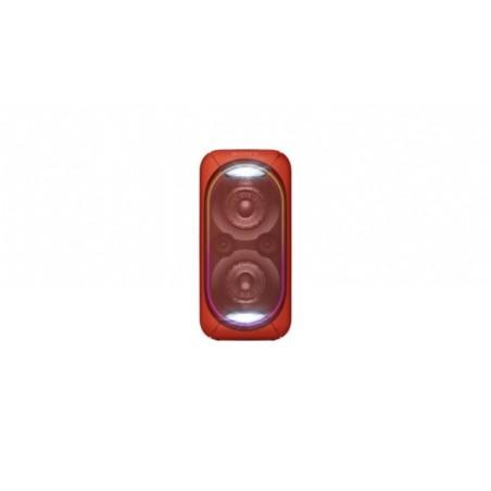 Altavoz SONY GTK-XB60 rojo