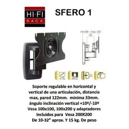 Soporte HIFIRACK SFERO1