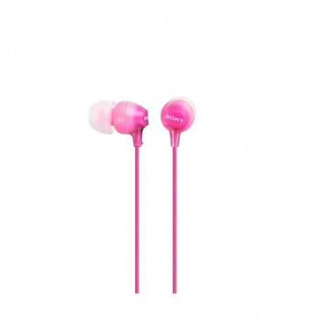 Auricular SONY MDREX15APPI rosa