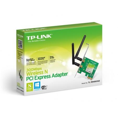 Wireless lan mini TPLINK N300 TL-WN881ND
