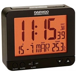 Despertador DAEWOO DCD-200B negro