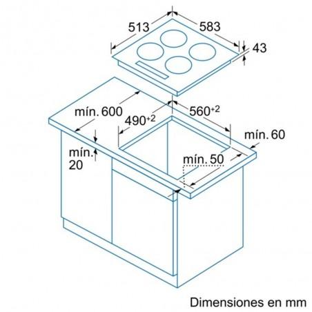 Encimera BALAY 3EB721XR 4Z