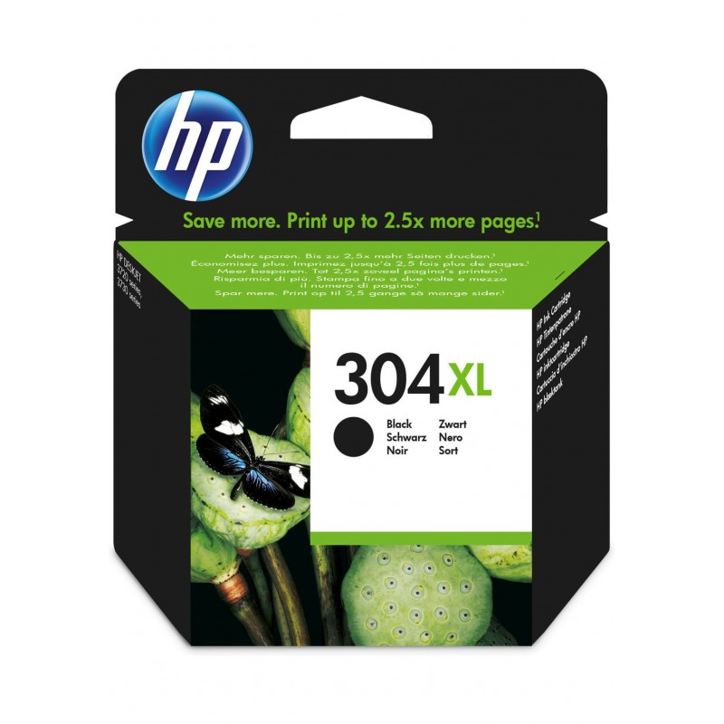 Cartucho HP 304XL NEGRO(N9K08AE)