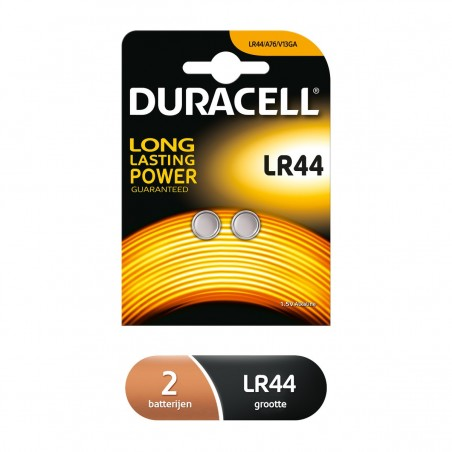 Pila DURACELL LR44B2(BOTON)