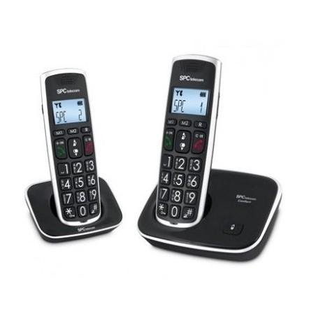 Teléfono dect duo SPC internet 7609N