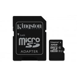 Memoria microSDHC KINGSTON canvas 10 uhs-i 32GB