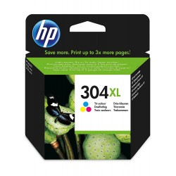 Cartucho HP 304XL COLOR(N9K07AE)
