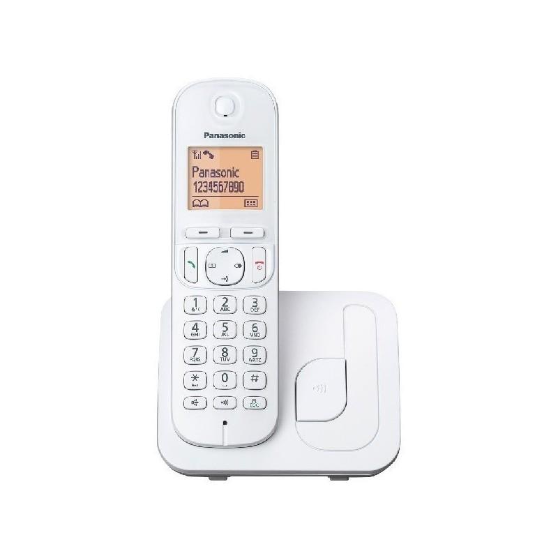 Teléfono dect PANASONIC KX-TGC210 blanco
