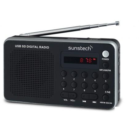Radio portátil SUNSTECH RPDS32SL