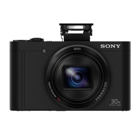 Cámarafotos digital SONY DSC-WX500B negra