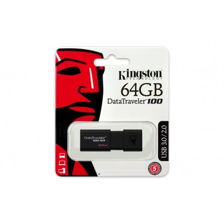 Memoria USB KINGSTON DT100 G3 64GB 3.0