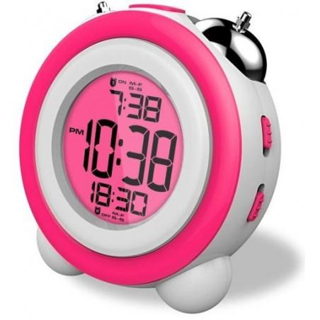 Despertador DAEWOO DCD-220PK rosa
