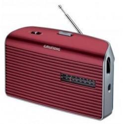 Radio portátil grundig MUSIC60 roja