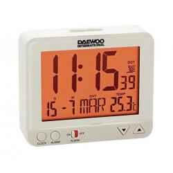 Despertador DAEWOO DCD-200W blanco