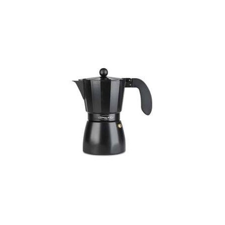 Cafetera OROLEY touareg 9T alu negra