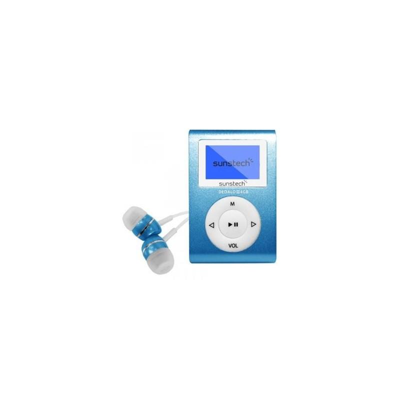 Mp3 SUNSTECH dedaloiii 4GB azul