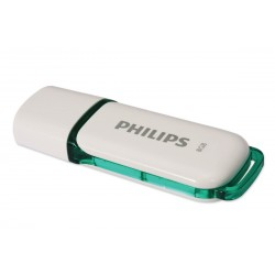 Memoria USB PHILIPS snow 8GB bl/ve 2.0