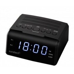 Radio despertador SUNSTECH FRD35UBK
