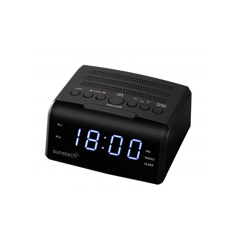 Radio despertador SUNSTECH FRD35UBK