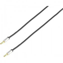 Cable plug 3,5MM-PLUG 3,5MM 1,20M