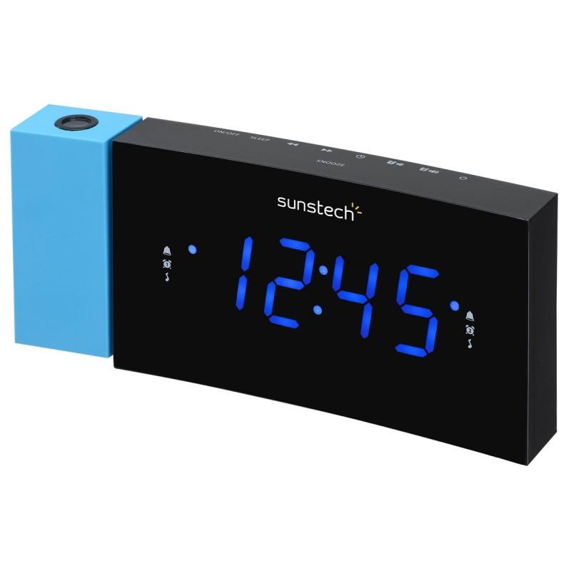 Radio reloj SUNSTECH FRDP3BL azul