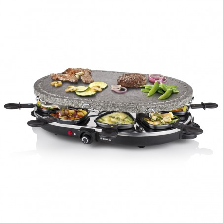 Raclette PRINCESS 162720 family 8 stone
