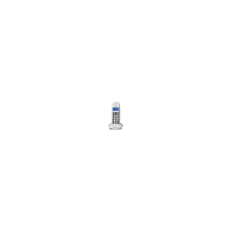 Teléfono dect MOTOROLA C1001 lb+ blanco