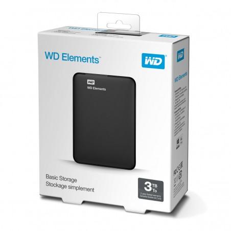 """Disco duro externo WD 2,5""""3TB 3.0 negro"""