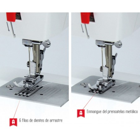 Máquina coser ALFA BASIC720